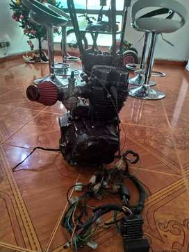 Motor de motocicleta 125 cc