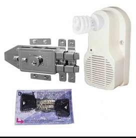 cerraduras y alarmas sonoras de seguridad y todo lo relacionado con la seguridad de su casa