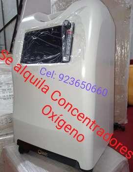 Alquiler de concentradores de Oxígeno