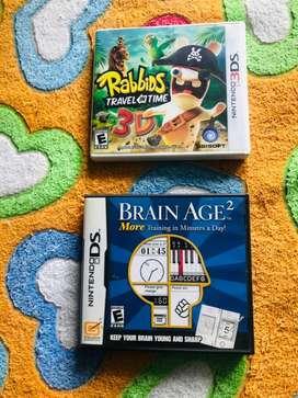 Vendo juegos Nintendo 3Ds