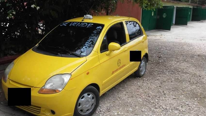 Se vende taxi Spark mod 2013 perfecto estado. 0