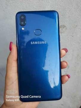 Vendo Samsung a10s libre sin detalles