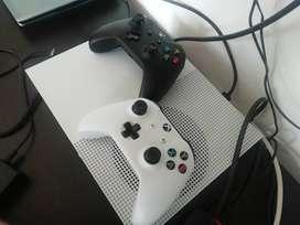 XBOX ONE S 1TB 2 CONTROLES 2 CARGA Y JUEGA NUEVOS