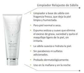 Crema limpiadora facial