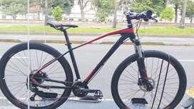Super precio bicicleta optimus tucana 29 T:M 9v hidraulico