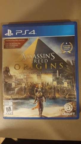 Assassing creed origins ps4 fisico