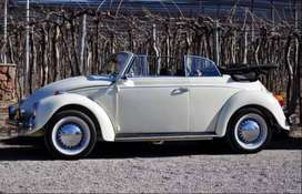 VW ESCARABAJO CONVERTIBLE RESTAURADO