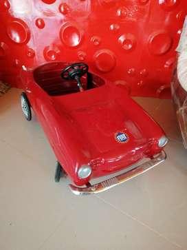 Carro de  pedales antiguo de los 50