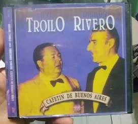 Cd Aníbal Troilo y Edmundo Rivero- Cafetín de Buenos Aires, Zona Norte!!