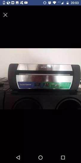 Equipo de. Música Sony shakex70d