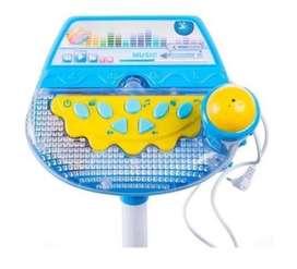 Micrófono Karaoke Infantil Niñas Mp3 Efectos