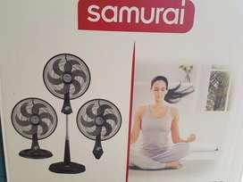Ventilador Samurai tres en uno