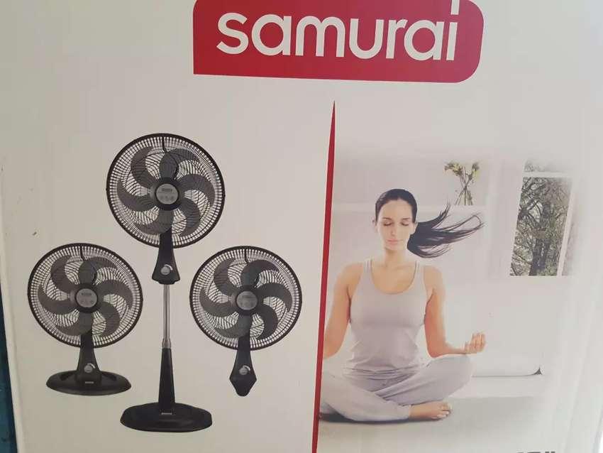 Ventilador Samurai tres en uno 0