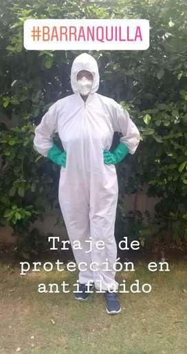 Traje de protección en antifluido