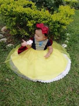 Disfraz blancanieves