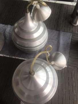 GANGA, Vendo 6 lamparas hermosas, de excelente calidad, Motivo Viaje.