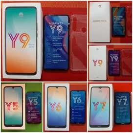 Huawei Y5, Y6, Y9, Y9 Prime 2019, P30 Lite NUEVOS .