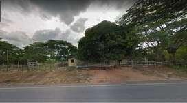 Se vende parcela en troncal del Caribe (Al lado de la Carretera Negra) de 8.3 hectáreas con abundante agua