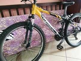 Se vende Bicicleta de Aluminio(Montaña) por motivo de viaje. Negociable