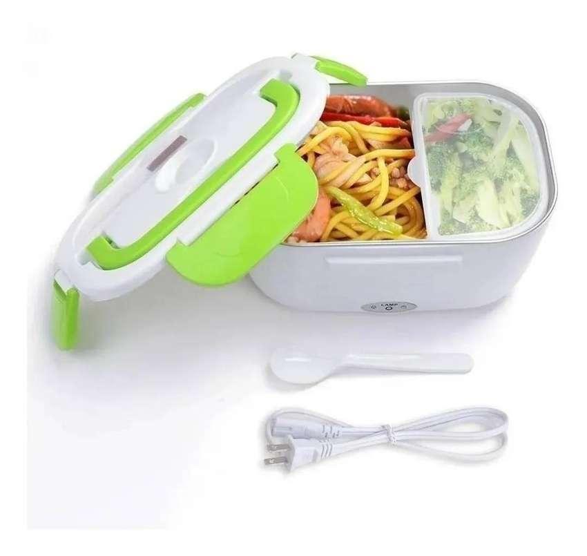 Lonchera Porta Comida Electrica Practica Segura+cuchara+obse 0