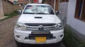 Toyota Fortuner 4x4 Modelo 2009