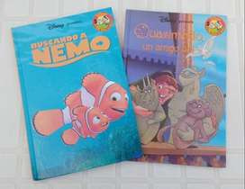 2 libros Club del Libro Disney Nemo + Jorobado de Notre Dame