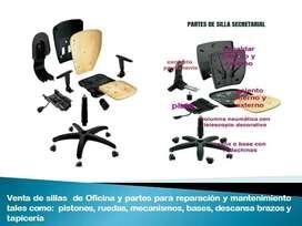 mantenimiento sillas de oficina