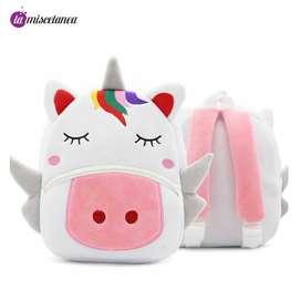 Morral de unicornio para niñas
