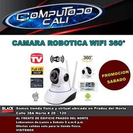 CAMARA ROBOTICA 360° WIFI