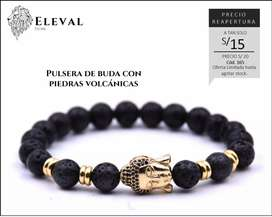 Pulsera Buda Dorado