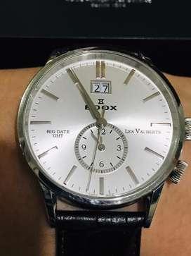 Reloj Edox Les vauberts Big Date !