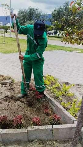 Servicio jardinería total