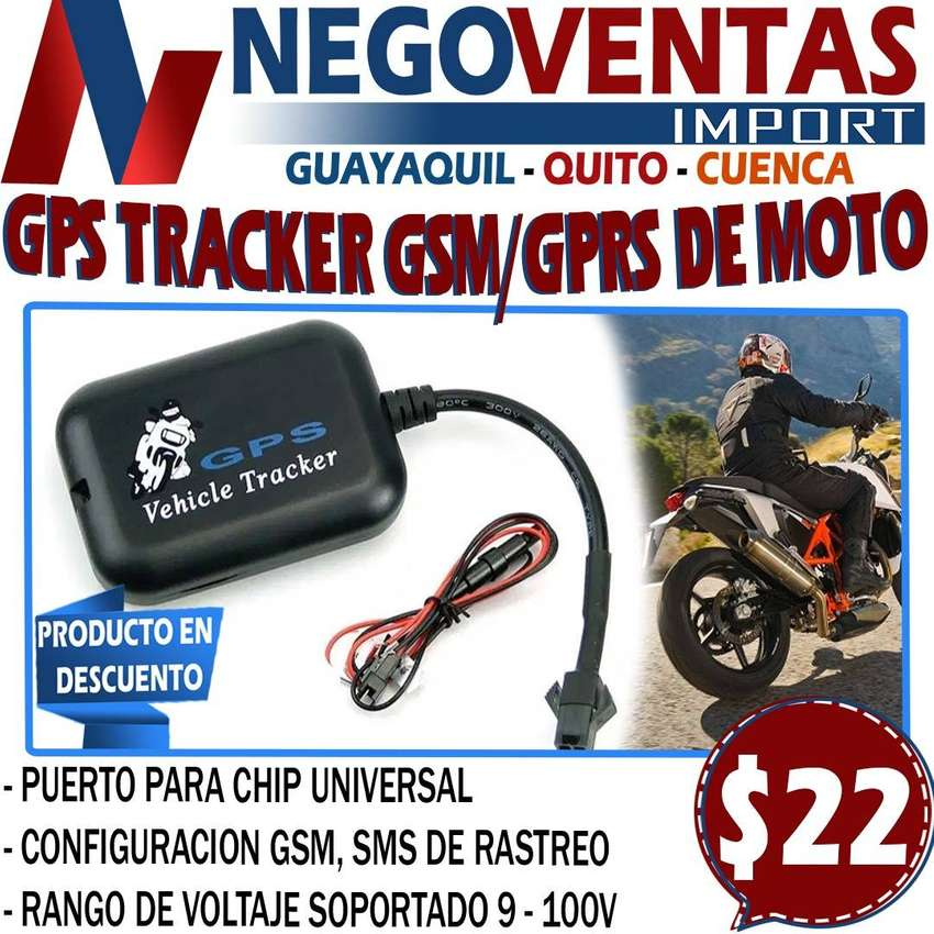 GPS TRACKER GSM/GPRS DE MOTO 0
