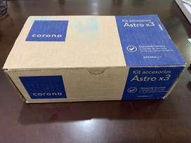 Kit Accesorios Baño Astro x 3 Corona