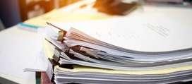 Servicio de escritura o transcripción de documentos