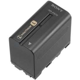 Bateria Para Led O Camaras Sony Np F970