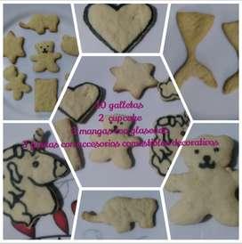 Kit para decorar galletas