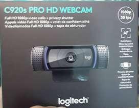 CAMARA WEB 1080P FULL HD- Camara Web Logitech C920s 15mp