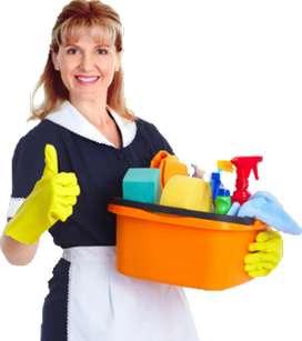 Se necesita empleada doméstica interna,  preferiblemente que haya laborado en hoteles.