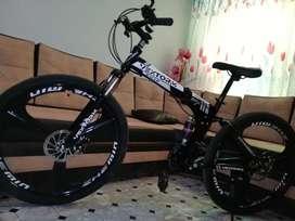 Bicicleta plegable rin 26