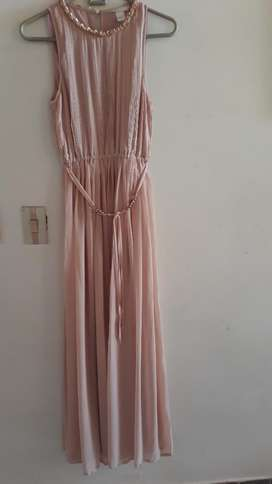 Vestido Dama. H&m.  Largo