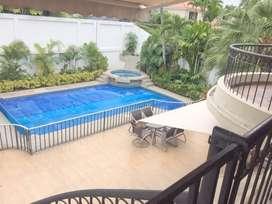 Urbanizacion Rio Grande vendo hermosa casa  4 dormitorios, piscina, jacuzzi, y areas verdes