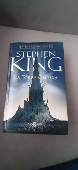 LIBRO LA TORRES OSCURA DE STEPHEN KING 989 PÁGINAS