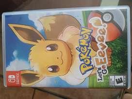 Juego Switch Pokémon legs go eevee