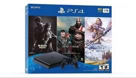 PlayStation 4 Sony 1TB + 3 Juegos