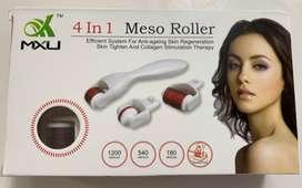 Meso Roller Regenerador de Colageno Facial 4 en 1