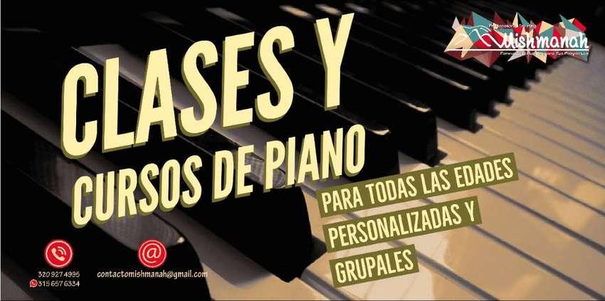 CLASES y CURSOS de Piano