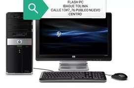 OFERTA HP INTEL CORE 2 DUO DDR3 CON MONITOR 17 TECLADO MASUO GARANTÍA
