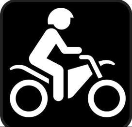Se necesita cobrador con moto