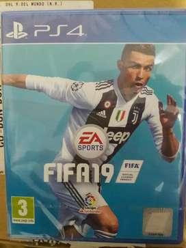 Se vende Fifa 19 para ps4